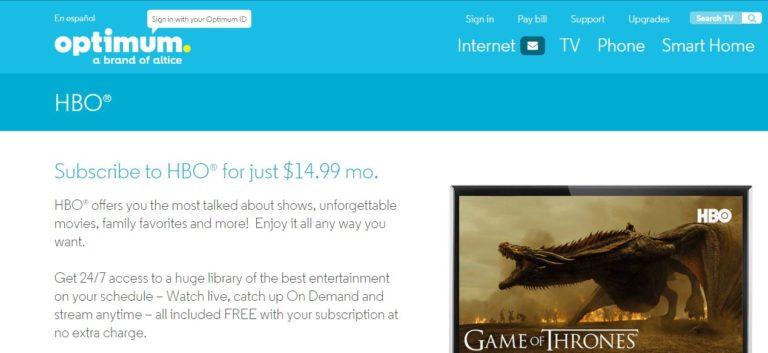 Watch Game of Thrones Online Free on Optimum