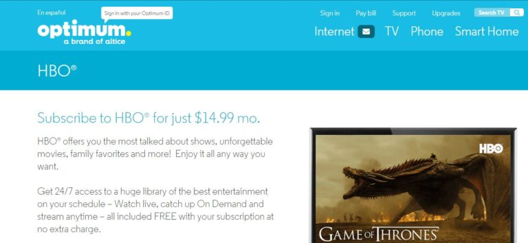 Watch Game of Thrones Online Free on Optimum