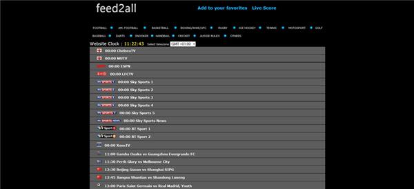 football streaming websites
