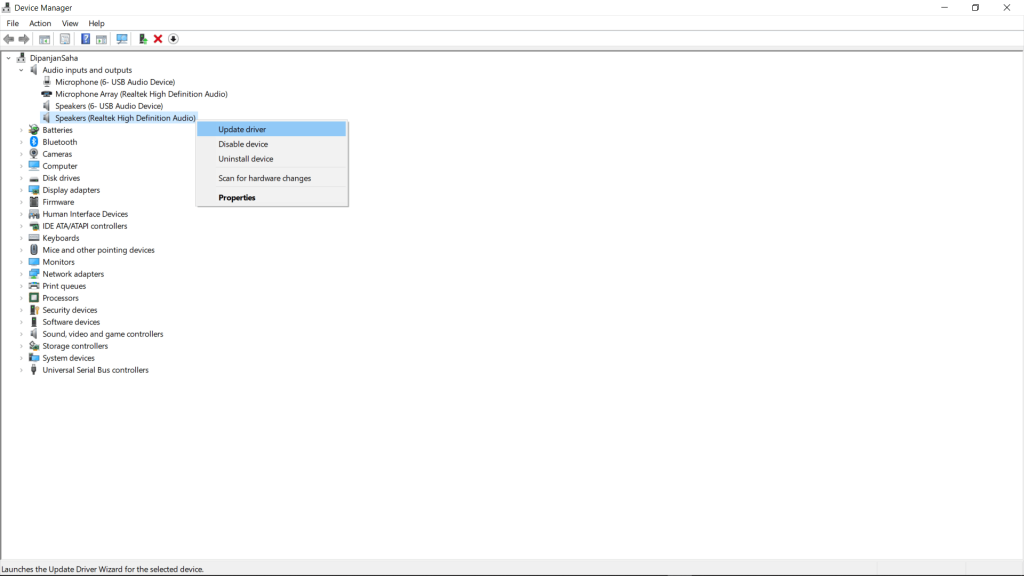 Automatically Update Realtek HD Audio Driver