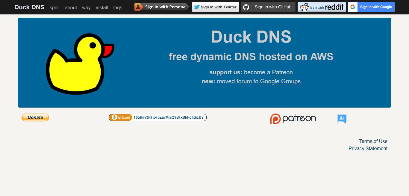 free dynamic dns