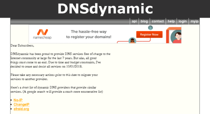 7 of the Best Dynamic DNS Providers You Can LookUp For FREE Today