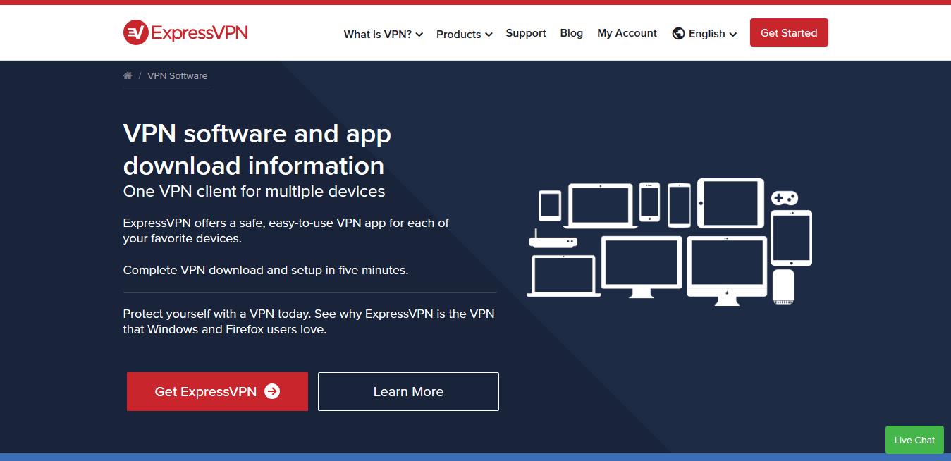 Express VPNs for Mac