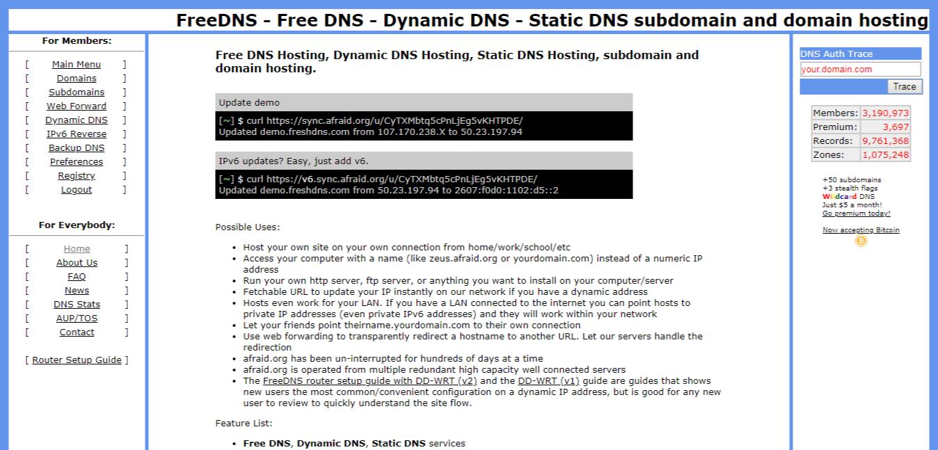 dns service provider