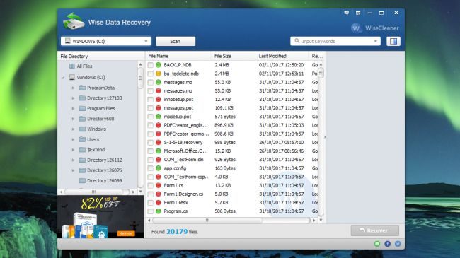 Recuva Data Recovery Software