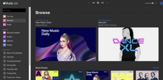 Apple Music Web App
