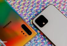 Pixel 4 vs. Galaxy Note 10