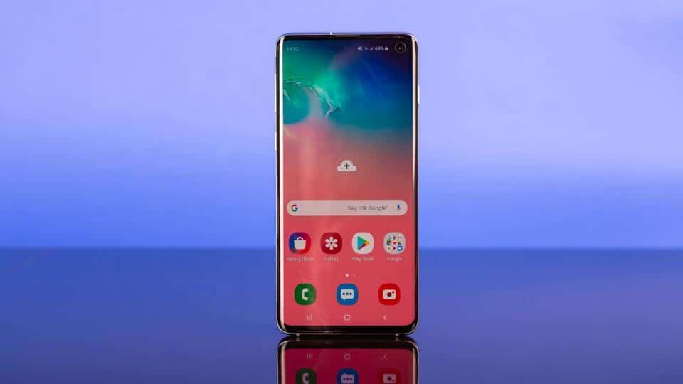 Galaxy S10 Design