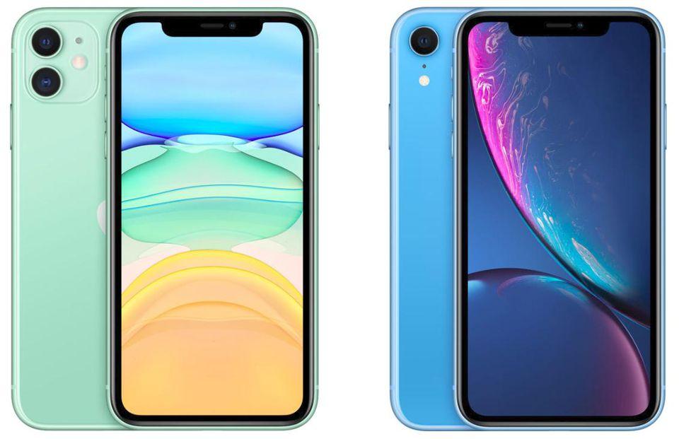 iphone 11 vs xr-design