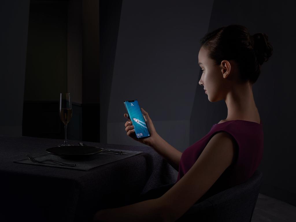 Huawei biometric security update
