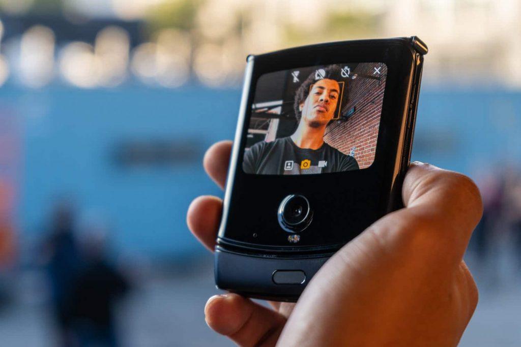 Motorola Razr - Camera