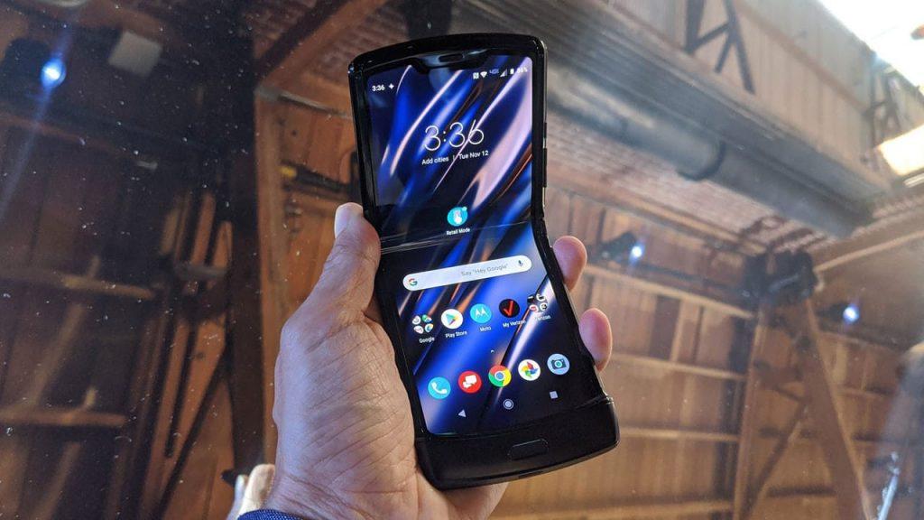 Motorola Razr - Design