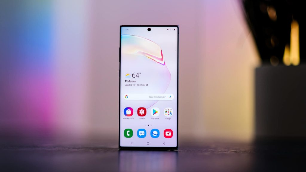 Samsung Galaxy Note 10 Plus - Display