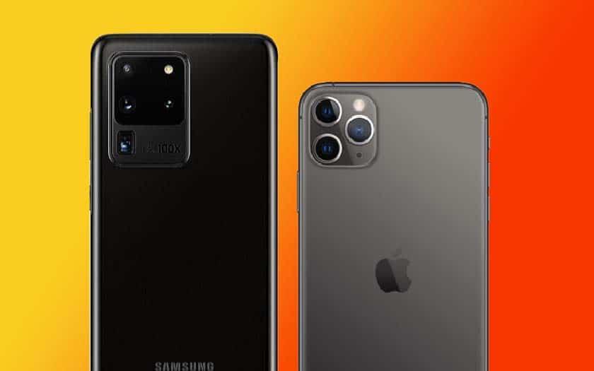 iPhone 11 Pro Max vs. S20 Ultra