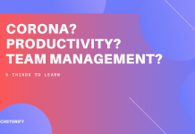Corona - Team Management