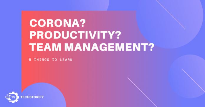 Corona - Team Management