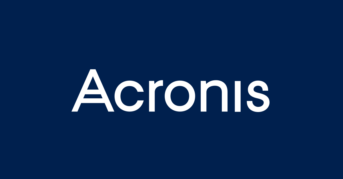 acronis data backup solutions