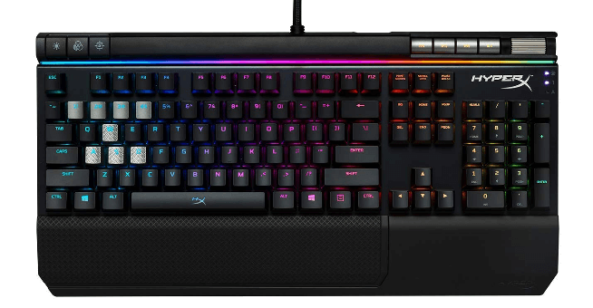 5. HyperX Alloy Elite- Best Wireless Gaming Keyboard with LEDs