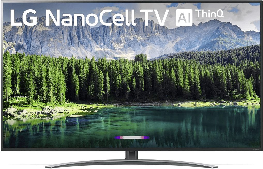 LG Nano 8 Series 75SM8670PUA, 75 4K UHD TV best 75-inch 4K TVs under $2000 with nanometer display