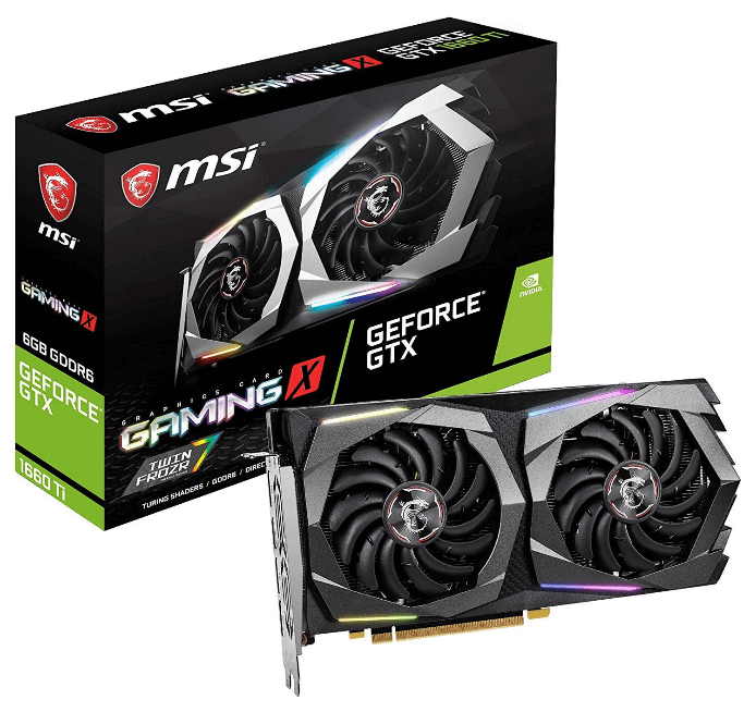 MSI GeForce GTX, 1660 Ti one of best graphics card for video editng in budget