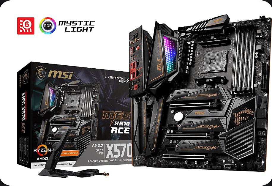MSI MEG X570 ACE- For high-end 3rd Generation Ryzen CPU