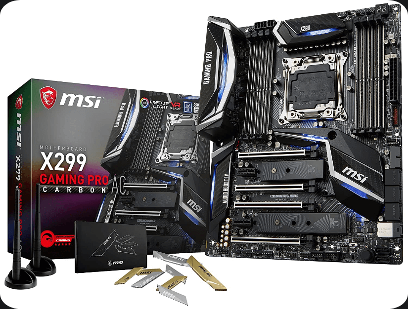 MSI X299 Gaming Pro Carbon ATX Motherboard