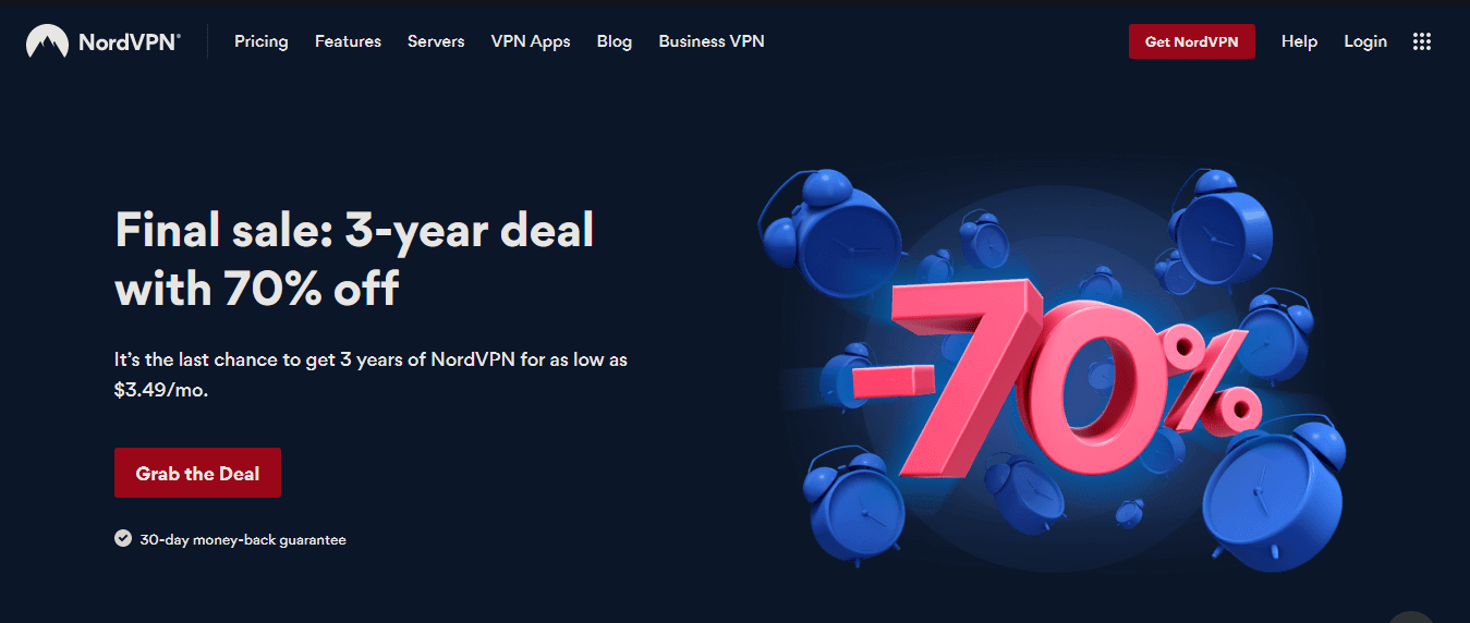 Nord VPN Best VPN for Firestick Deal- Premium Features with 70 percent Off