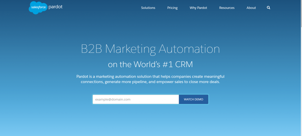 Salesforce Pardot Automation Software