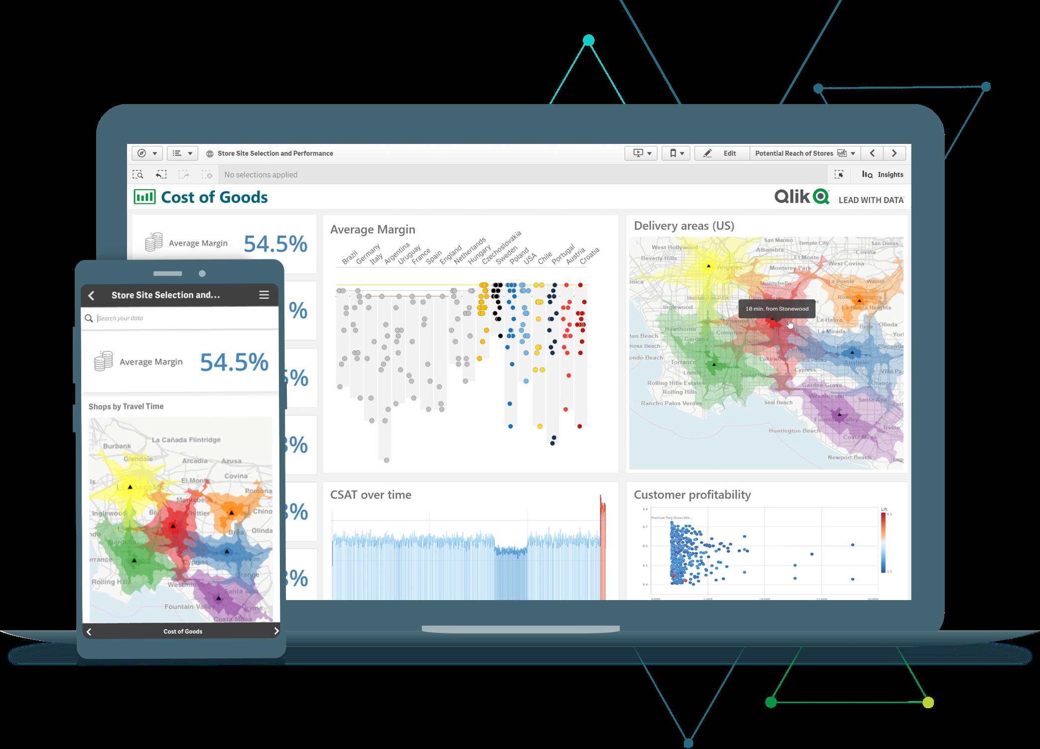 QlikSense for business analytics