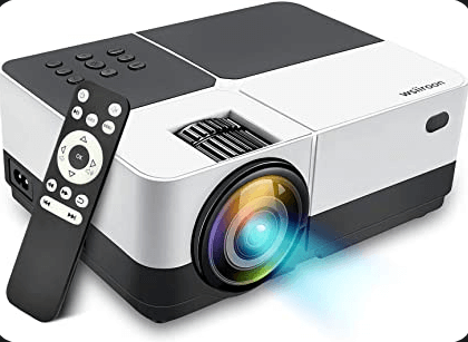 Wsiiroon 2019 LED Newest Projector one of the best projectors under $200 for 3000+lumens
