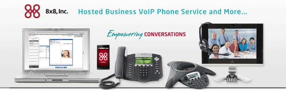 8x8 Business VoiP phone services