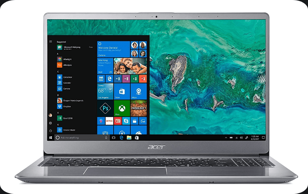 Acer Swift 3 SF315 Gaming laptop with Better Battery