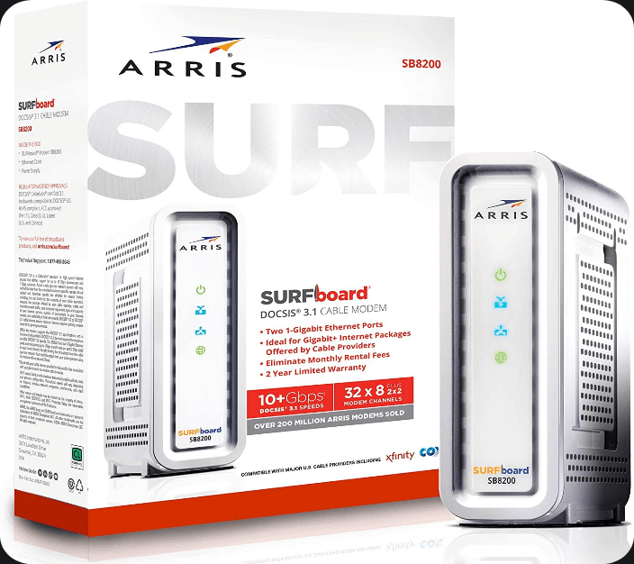 Arris Surfboard SB8200 Cable Modem