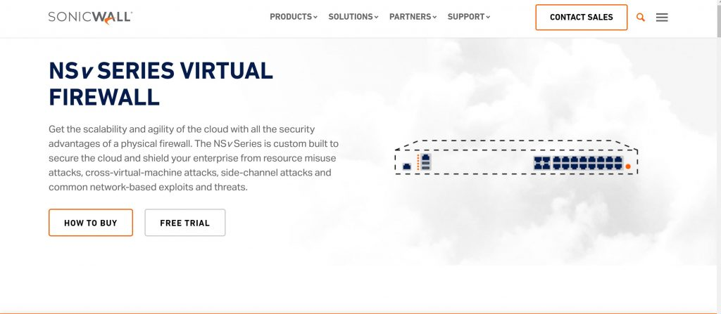 Best Virtual Firewall for small business- SonicWall