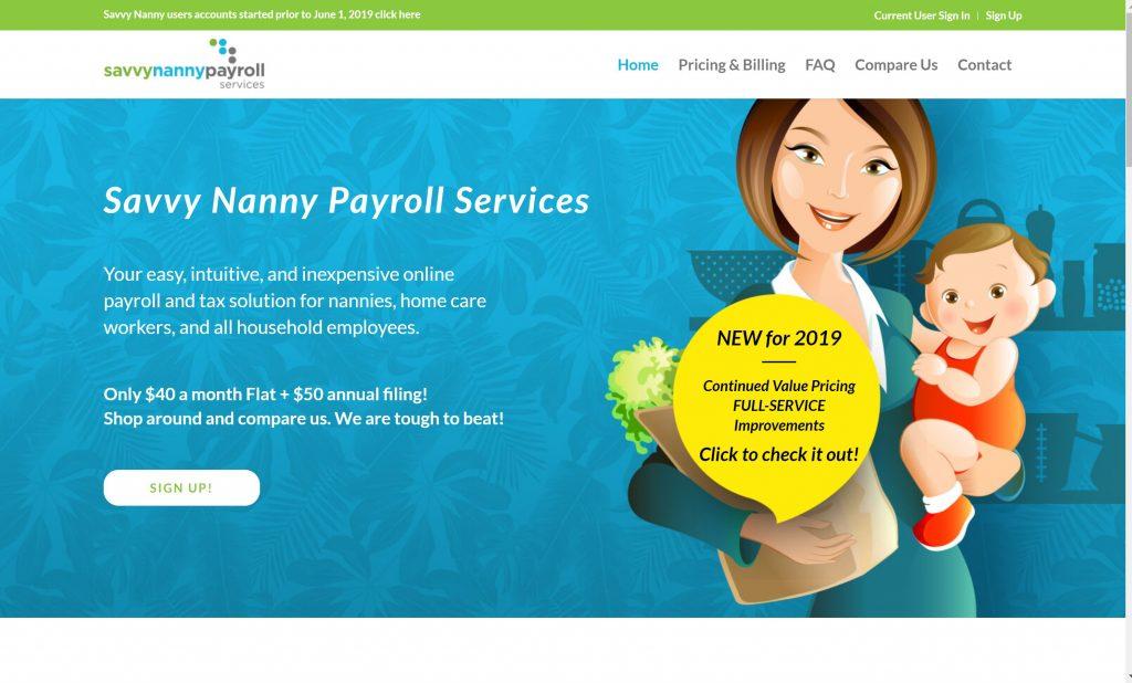 Best payroll service- Savvy Nanny