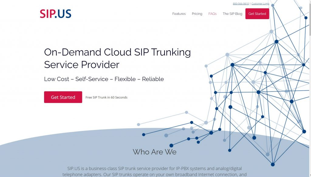 Business VoIP provider- Sip.us