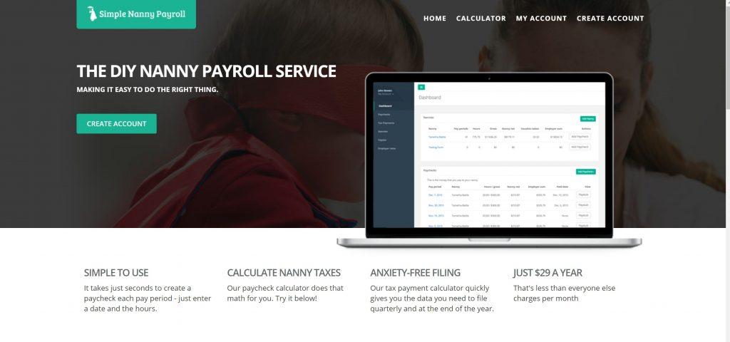 DIY Household employer payroll- simple nanny payroll