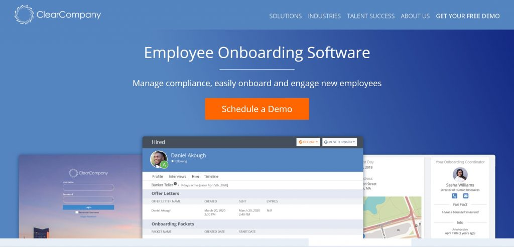 Employee-Onboarding tool Clearcompany