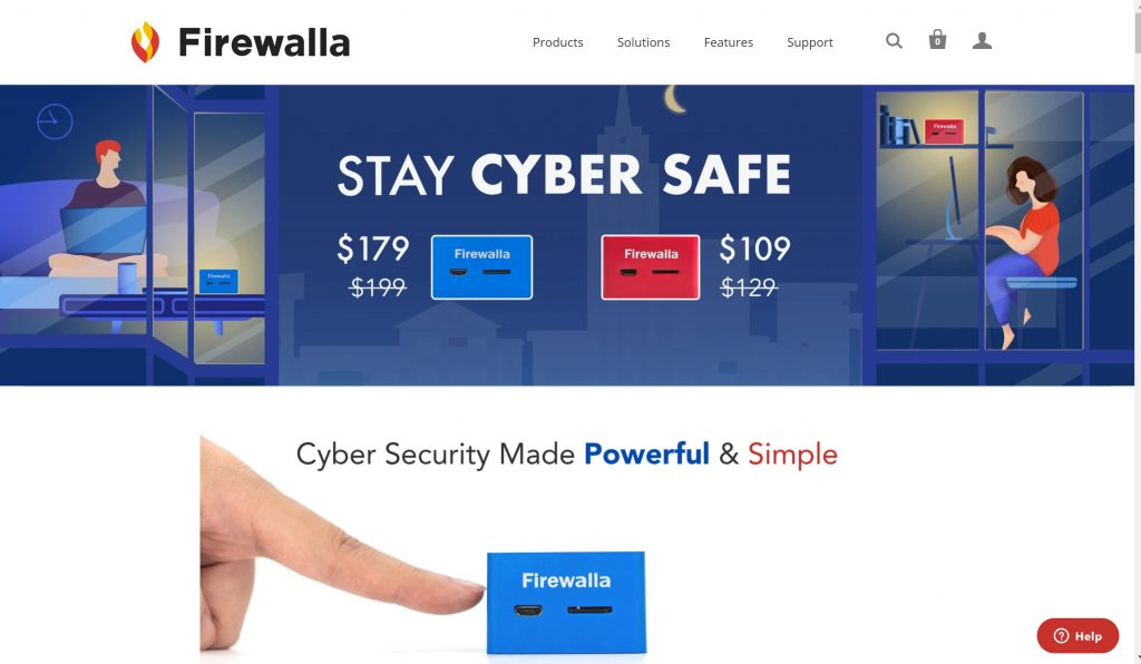 Firewalla small business firewall systems