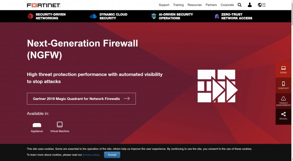 Fortinet Firewall systems