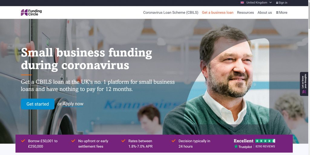 Funding Circle for small business funding