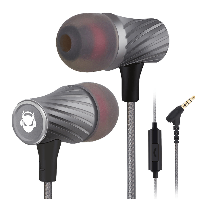 MINDBEAST Super Bass- Best Gaming Earbuds with 90% Noise Isolation