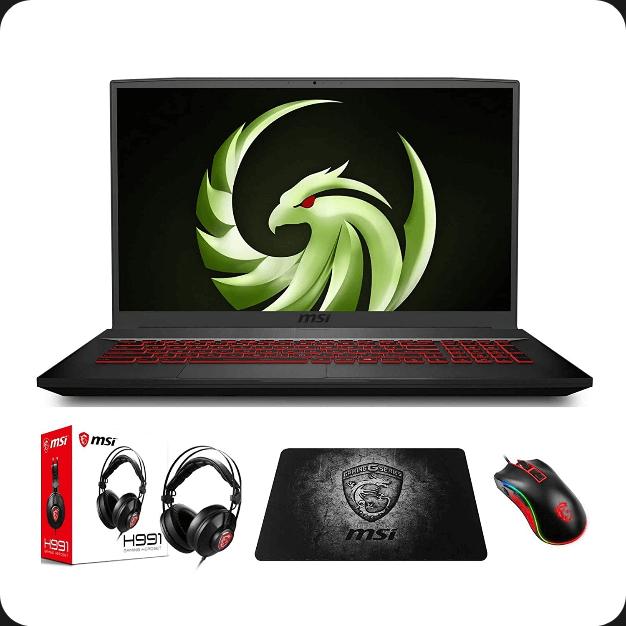 MSI Bravo 17 Best 17-inch Gaming Laptop under $1000