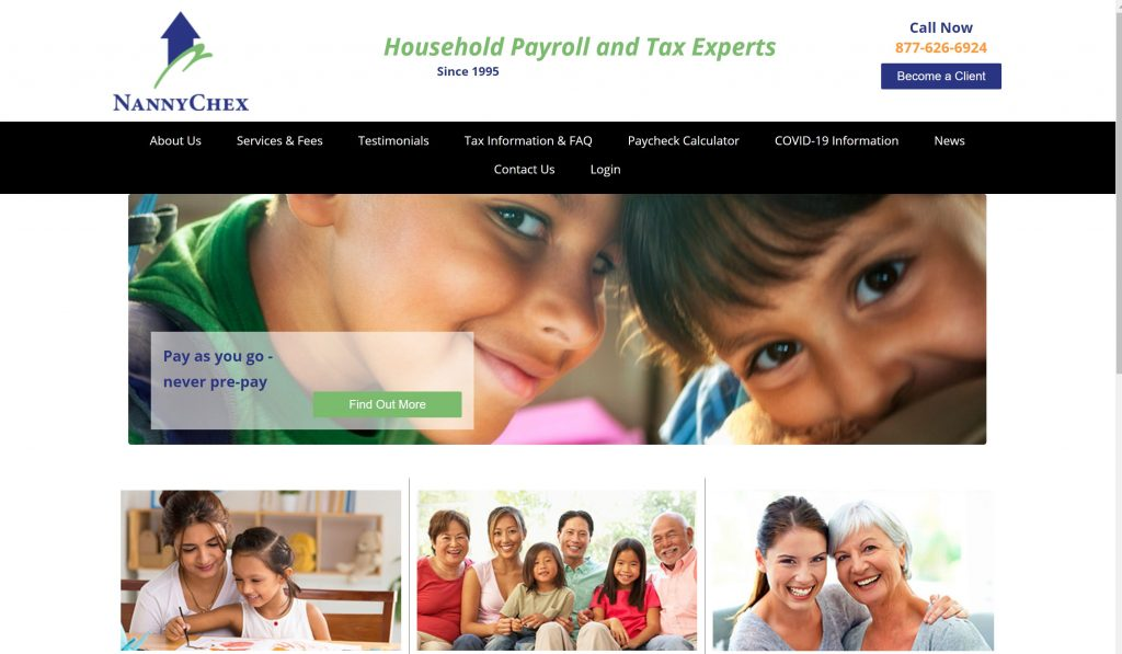 Nannychex payroll services