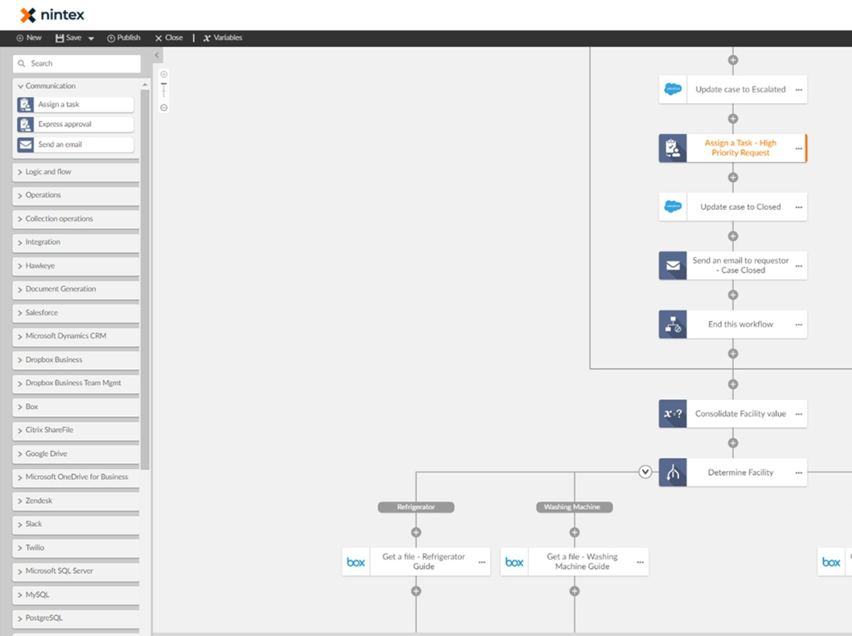 Nintex workflow automation tool