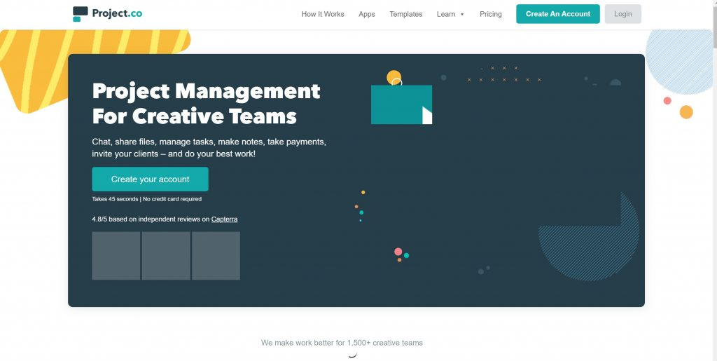 Project management tool- project.co