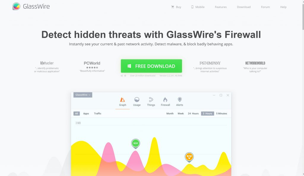 Small business firewalls- Glasswire