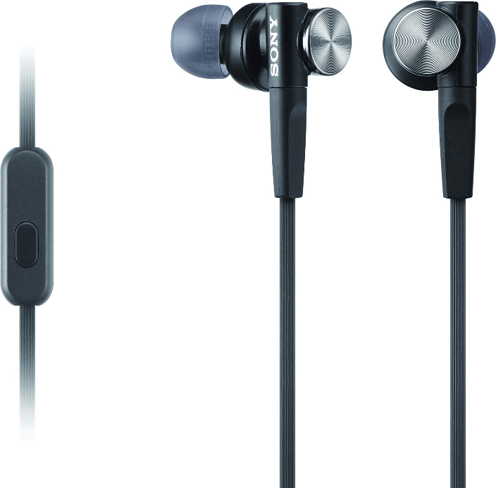 Sony MDRXB50AP Extra Bass Earbud Headset- Gaming Earbuds with the Best Sound Quality