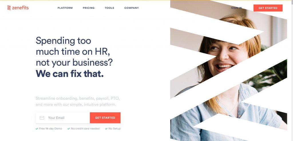 Zenefits #1 HR software