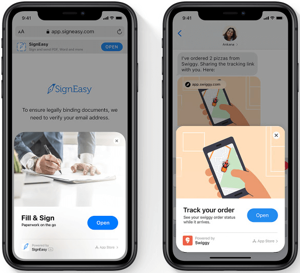 APP Clips one of the useful iOS 14 features